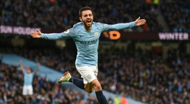 Bernardo Silva is said to be at the top of the Spanish club's transfer wish list. AFP