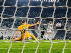 La Juventus passe sur le fil grâce à Morata et Ronaldo. afp