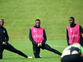 Edouard and Ntcham were back in training. AFP
