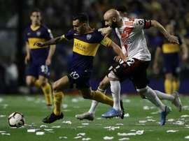 Quem tem mais títulos, Boca Juniors ou River Plate. AFP