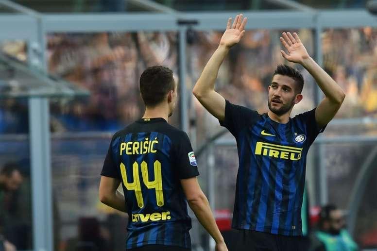 Inter empata a dois gols com o Torino na liga italiana. AFP