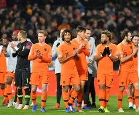 Holanda derrotó por 2-0 a Francia. AFP