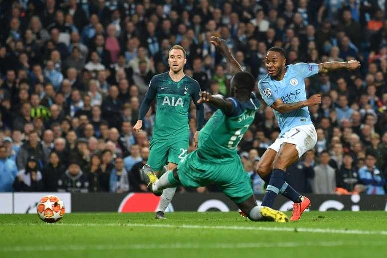Tottenham e City fazem o grande jogo da segunda rodada. AFP