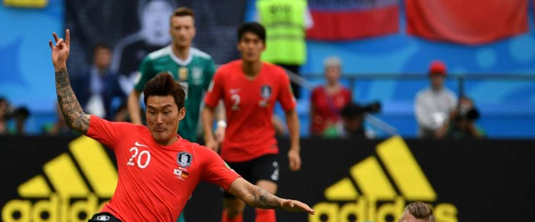 Hyun-soo played for his country at the World Cup. AFP