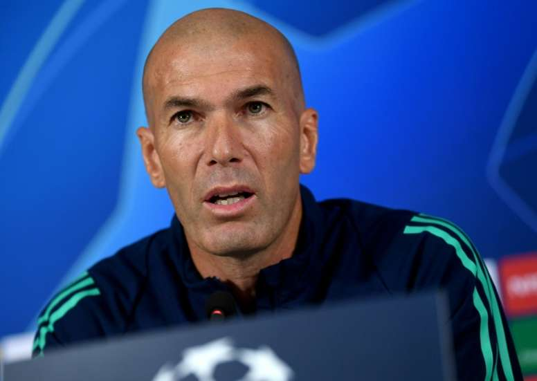 If Real Madrid lose to Galatasaray, Zidane could be sacked. AFP