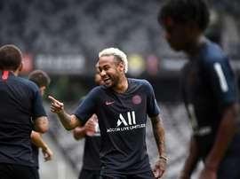 El todo o nada por Neymar. AFP