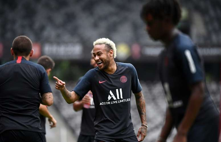 Le Real Madrid attend toujours Neymar. AFP