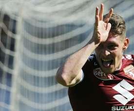 Belotti faturou no segundo tempo. AFP
