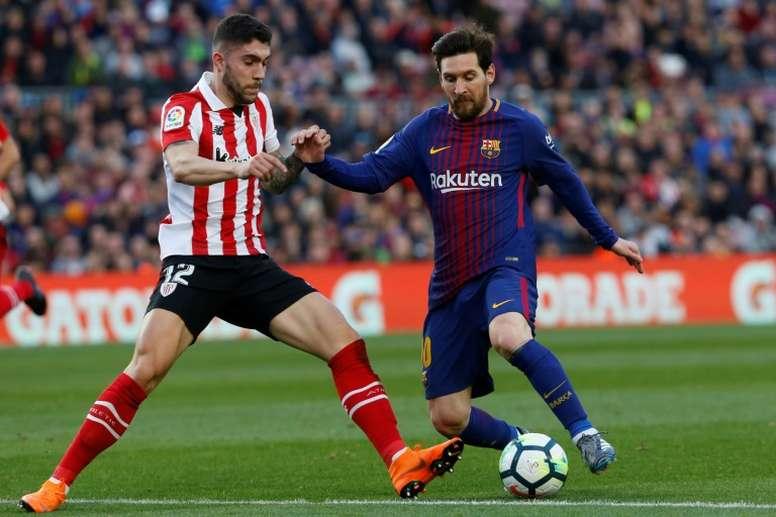Messi retrouve l'Anoeta. EFE