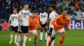 Van Dijk stunned Germany. AFP