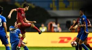 Oscar marcó un doblete. AFP