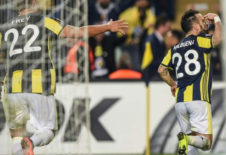 El Fenerbahçe y el Zenit juegan el martes. AFP