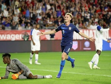 Victoire des États-Unis. AFP