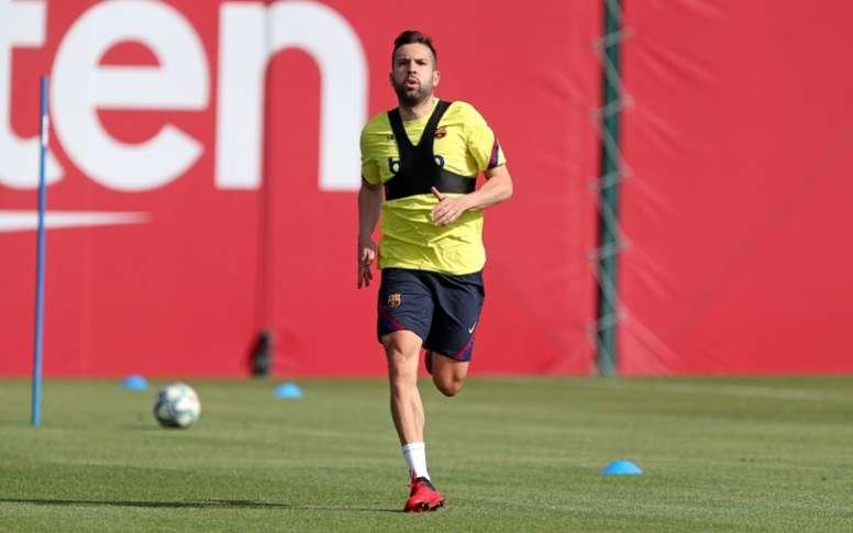 Alba de retour à l'entraînement : objectif Clásico. AFP