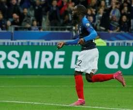 Première titularisation pour Ikoné, Matuidi sur le banc. AFP