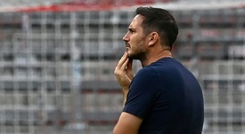 Lampard habló tras la goleada del Chelsea al Sevilla. AFP