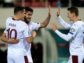 Foot: la Suisse et le Danemark qualifiés pour l'Euro-2020. AFP