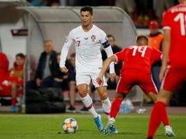 Le Portugal se relance en dominant la Serbie. AFP