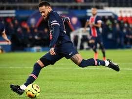 Neymar misses playing at Santos. AFP