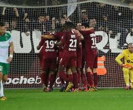 Les compos probables du match de Ligue 1 entre Nantes et Metz. AFP