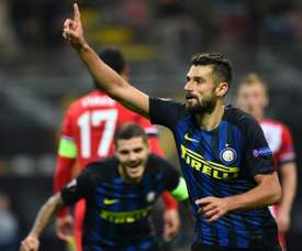 Candreva wary of wounded Milan. AFP