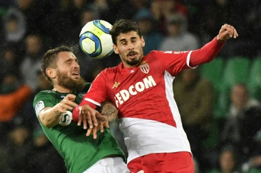Gil Dias (Monaco) prêté à Famalicão (Portugal). AFP