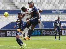 Bordeaux freiné par Nice à domicile. AFP