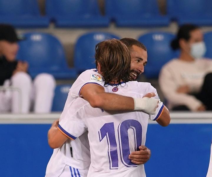Real Madrid venceu o Alavés por 4 a 1. AFP