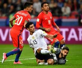 Empate a uma bola na segunda rodada da fase de grupos. AFP