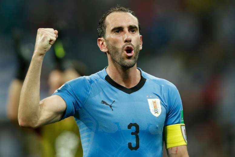Godin has emerged as a shock target for Man United. AFP