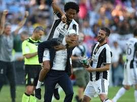 Cuadrado será a moeda de troca da Juventus para receber Brozovic. AFP