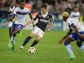 Le Serbe Gajic quitte Bordeaux pour l'Etoile rouge. AFP