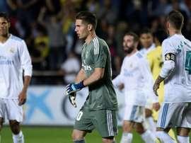 Le Real Madrid tenu en échec à Villarreal avec dans ses buts Luca Zidane. AFP