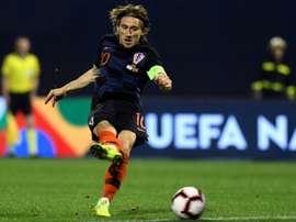 La justice laisse Modric tranquille. AFP