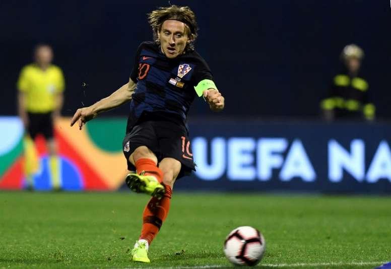 Modric consiguió lo que no pudieron hacer Iniesta y Xavi. AFP