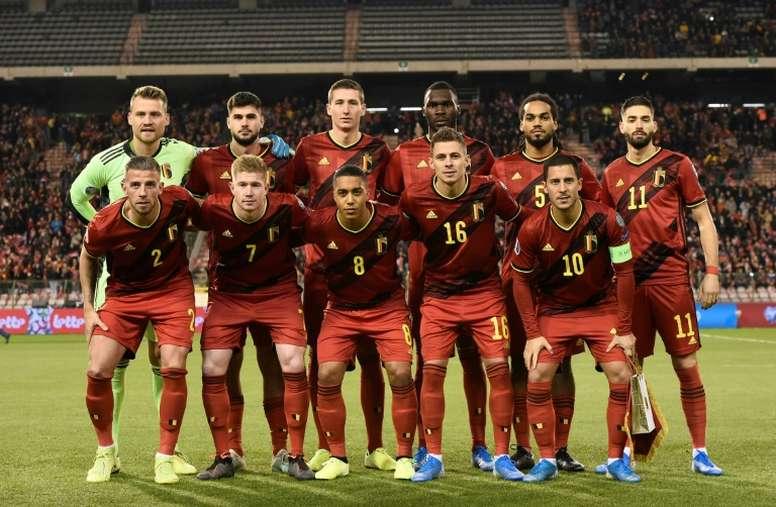 Classement Fifa: la Belgique domine devant la France. AFP