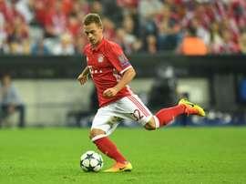 Joshua Kimmich é 'bávaro' até 2023.EFE