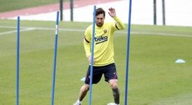 Bonnes nouvelles pour Messi et le Barça. AFP
