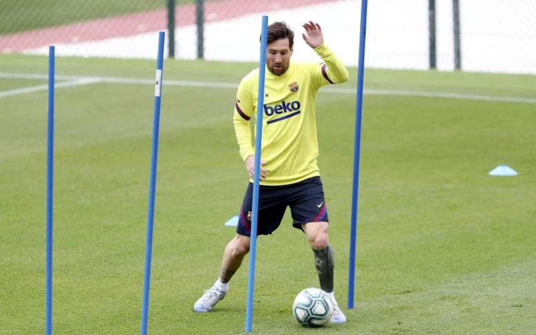 OFFICIAL: Messi injured eight days before LaLiga's restart. AFP