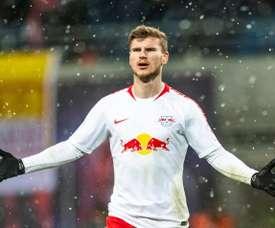 Werner, mais perto do Bayern. AFP