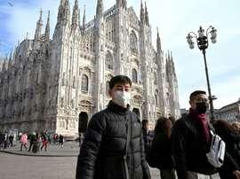 Coronavirus en Italie. AFP