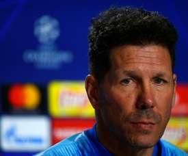 Simeone pidió perdón a quien hubiera ofendido. AFP/Archivo