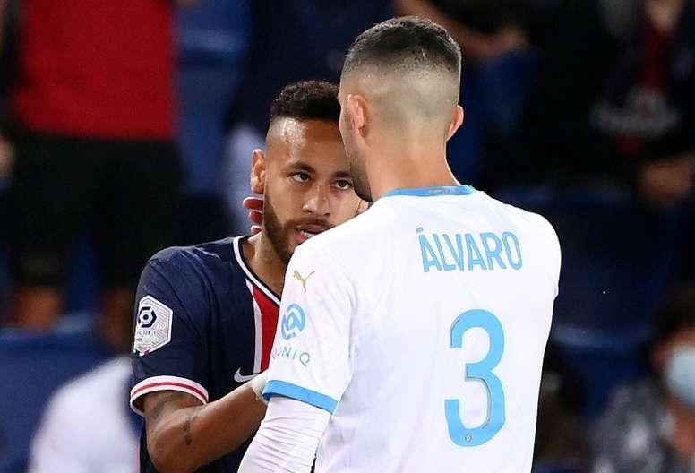 Alvaro, comme si de rien n'était. AFP