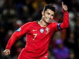 Le Portugal, retardataire à qualifier. AFP