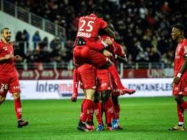 Le club de foot de Dijon donne 200.000 euros à des hôpitaux. AFP