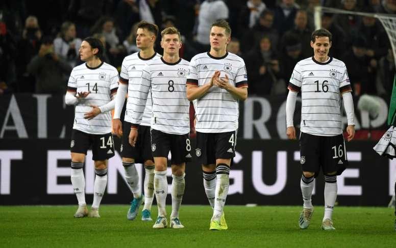 Alemania no jugará en países que discriminen a la mujer. AFP