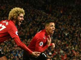 Manchester United Alexis Sanchez. AFP