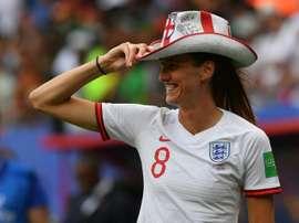 L'Angleterre, presque comme chez elle. AFP