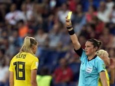 La Ligue australienne désigne sa première femme arbitre. AFP