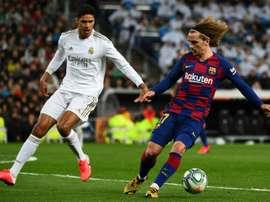 Varane has played 200 games for Real Madrid in La Liga. AFP